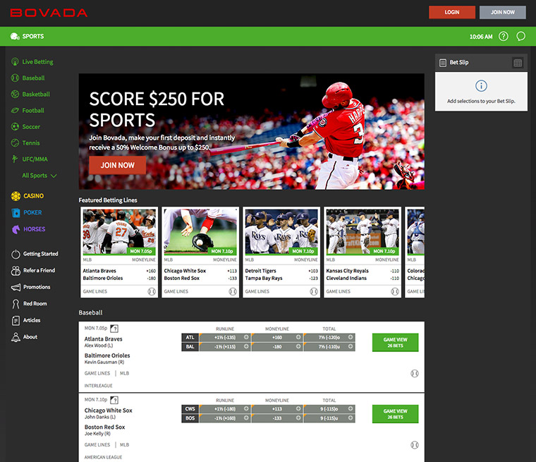 bovada log in sports betting insider