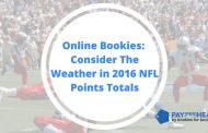 Why Online Bookies Consider Weather in 2016 NFL Points Totals