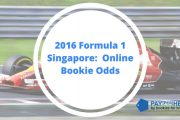 2016 Formula 1 Singapore: Online Bookie Odds
