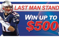 Win up to $5,000 - America's Bookie NFL Last Man Standing Contest