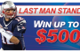 Win up to $5,000 – America's Bookie NFL Last Man Standing Contest